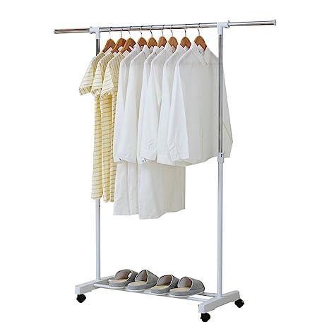 Amazon.com: Sunshine piso percha de ropa recámara perchero ...