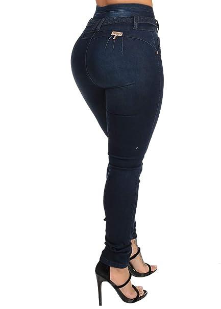 Amazon.com: ModaXpressOnline - Pantalones vaqueros con ...