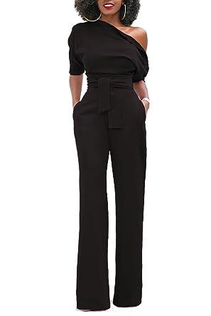 L ensemble des Croset Pur La Jambe Une Épaule Classique De Combinaison  Black S d9225521b48
