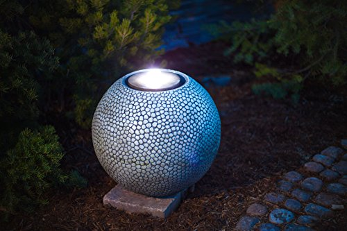 Review Pebble Sphere 19″ Fountain