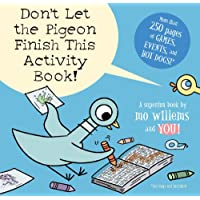 Dont Let the Pigeon Finish This Activity Book Paperback