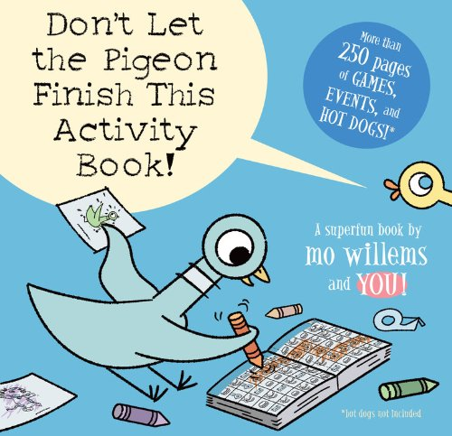 Don't Let the Pigeon Finish This Activity Book! by Mo Willems (Image #2)