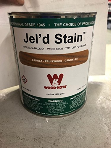 - WOOD KOTE PRODUCTS INC 206-4 QT FRUITWOOD JEL FT. D STAIN 206-4