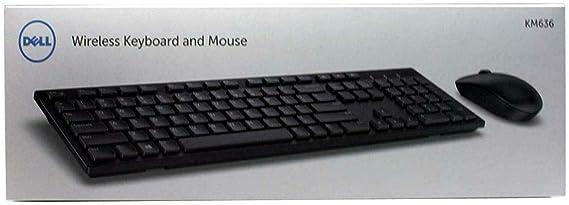 Dell KM636 Combo de teclado y ratón inalámbrico (580-ADVB ...