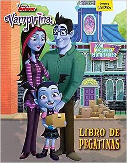 Vampirina. Libro De Pegatinas: Con Pegatinas Reutilizables por Disney