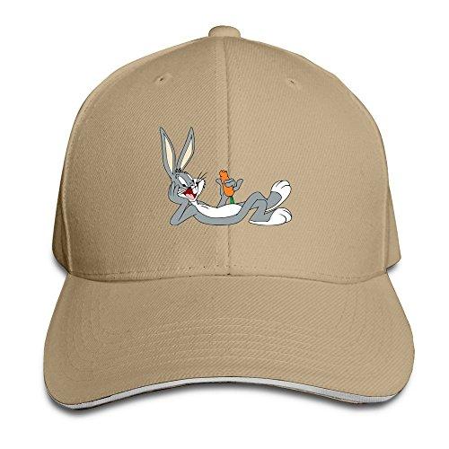 Bugs Bunny Baseball Bugs (Unisex Bugs Bunny Baseball Cap Natural)