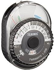Sekonic L-208 Twin Mate Light Meter (Black/White)