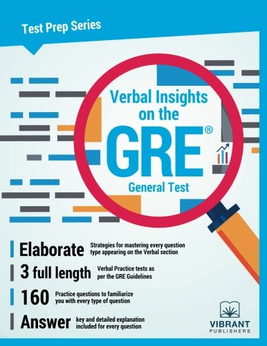 Verbal Insights on the GRE General Test (Test Prep Series) (Volume 5)