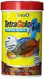 Tetra 77248 TetraColor PLUS Tropical Flakes, 2.20-Ounce, 375 ml