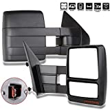 ford 150 accessories 2004 - Towing Mirrors for F150 Exterior Accessories Mirrors for 2004-2014 Ford F150 Truck with Power Cotrol Heated Turn Signal and Puddle Light Features