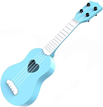ERWEF Primera Infancia Educación Guitarra de Juguete de Madera Ukulele, Can Play Mini Ukulele (Color : B): Amazon.es: Electrónica
