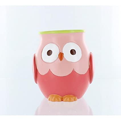 Hooty Bathroom Collection Colorful Hoot Owl Bath Accessories (Tumbler)