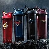 BlenderBottle 4-Pack Water Bottle of 32oz, Batman/Flash/Superman/Wonder Women, 32 ounce Value Pack