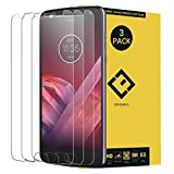 CENTAURUS Replacement for Motorola Moto Z2 Play Glass Screen Protector,(3 Packs) Anti-Glare Ultra-Thin Clear 9H Hardness Tempered Glass Protective Film Motorola Moto Z2 Play XT1710 (5.5 inch)