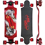 "Landyachtz Switch 35"" Eagle Red Complete 9.5x35/27wb Skateboarding Completes"
