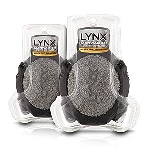 Lynx - Manwasher, herramientas de ducha, pack de 2