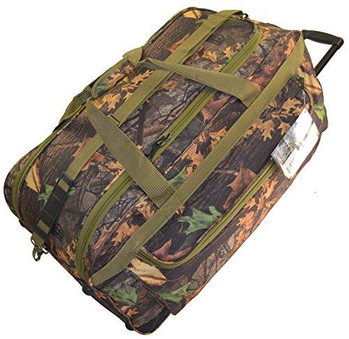 Mossy Oak Infinity Rolling Duffel Bag - 30