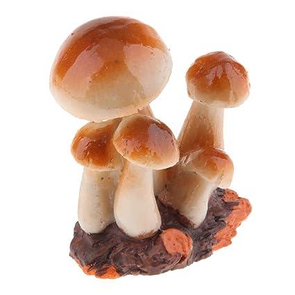 Amazon.es: B Blesiya Mini Setas Estatuilla de Terrario ...