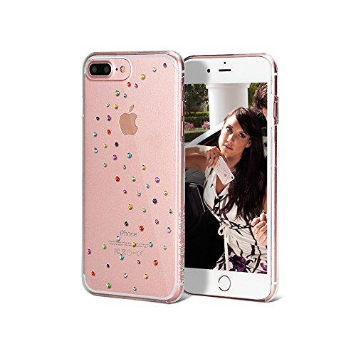 Bling-My-Thing iP7-l-mw-cl-ccd Milky Way Serie Luxuriöses und einzigartiges Design veredelt mit original Swarovski Kristallen, modisches Case für Apple iPhone 7 Plus Cotton Candy