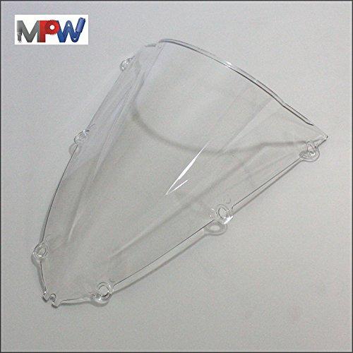 MPW Double Bubble Screen Clear Yamaha YZF-R1 98-00