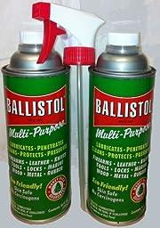 Ballistol Multi-Purpose Lubricant - MIS Kit #2 - (2) 16 oz Non-Aerosol Kit - Bonus Trigger Sprayer