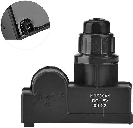 Botón de encendido del generador de chispas Batería de encendido de barbacoa Batería de encendido de parrilla de gas Batería excluida, (1/3 puntos de ...