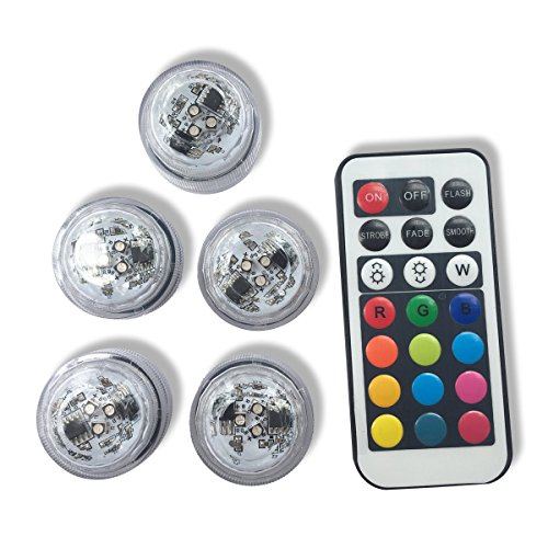 Qicai-H-Flameless-LED-Tea-Lights-Multi-Color-Option-Battery-Powered-Unscented-Mini-Tealight-with-Remote-Control-Perfect-for-Weddings-Christmas-Thanksgiving-Holiday-Party-Lighting-Strobe-Set-of-5