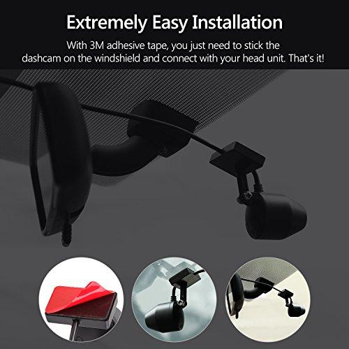 Dash Cam for Cars,Eonon Car DVR,Dashboard Camera,Car