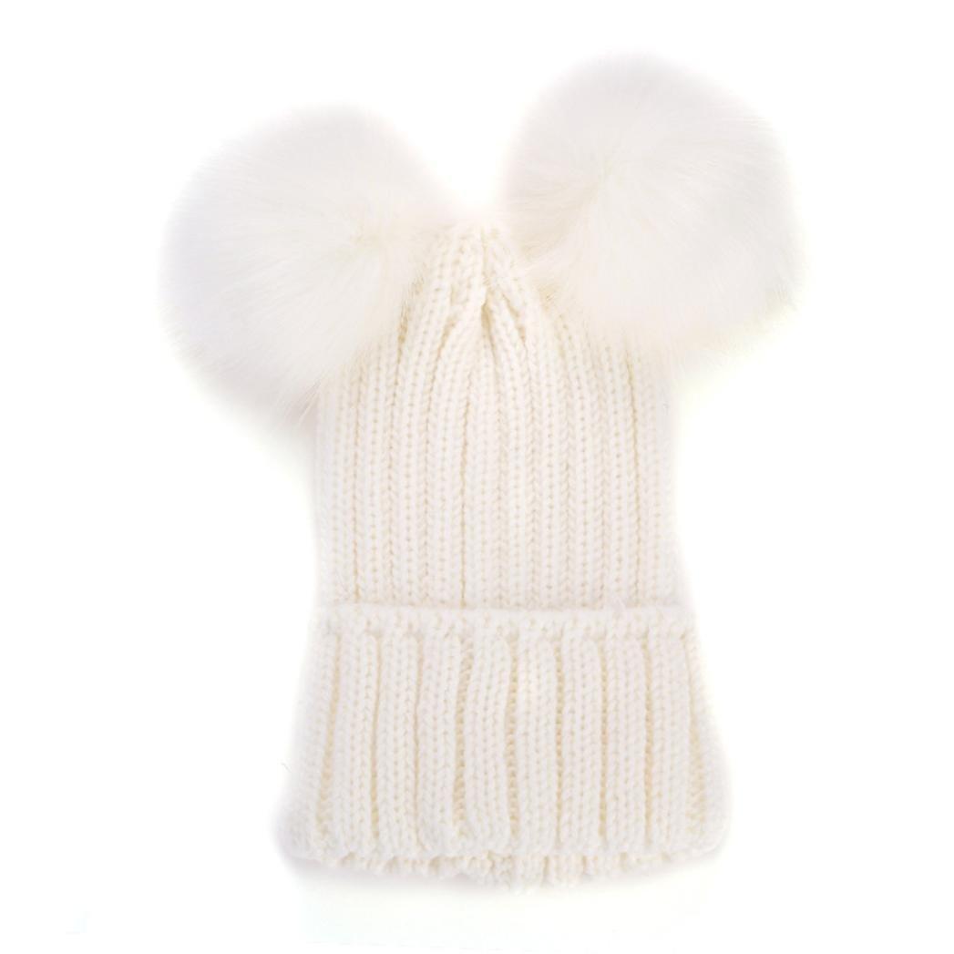 sombrero de esquí de invierno, las mujeres sombrero holgado crochet ...