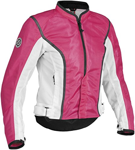 Firstgear Women's Contour Mesh Jacket - X-Large/Pink/White
