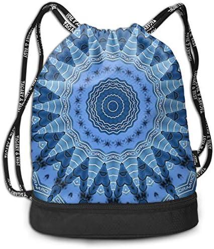 HUOPR5Q Painting-Art Drawstring Backpack Sport Gym Sack Shoulder Bulk Bag Dance Bag for School Travel