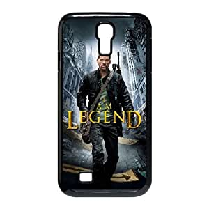 Soy leyenda alta resolución cartel Samsung Galaxy S4 Caso 9500 del teléfono celular funda Negro caja del teléfono celular Funda Cubierta EEECBCAAJ79856