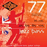 Rotosound RS77EL Monel Flatwound Extra Long Bass Guitar Strings (45 65 85 105)