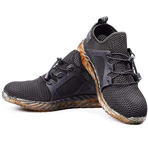- ◆◇HebeTop◇◆ Men's Newton Ridge Plus II Waterproof Hiking Boot, Breathable, High-Traction Grip Black