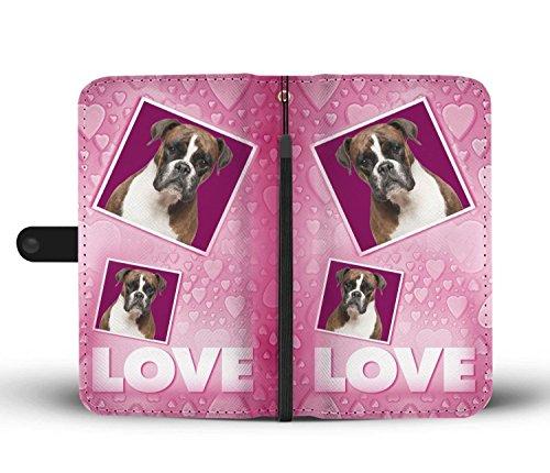 Amazon com: Dog Print Phone Case, Boxer Dog Print Smartphone iPhone