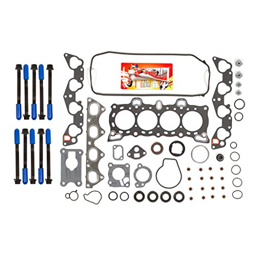 New EH604E1 Graphite Cylinder Head Gasket Set for 1988-95 Honda Civic Crx 1.5L Non-Vtec D15B D15B2 D15B6 D15B7 D15B8 1.6L D16A6 Engine CNS EngineParts