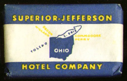 - Superior-Jefferson Hotel Co Guest Bar of Colgate soap