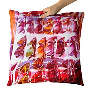 Westlake Art - Barcelona Vintage - Decorative Throw Pillow Cushion - Picture Photography Artwork Home Decor Living Room - 18x18 Inch (F7397)
