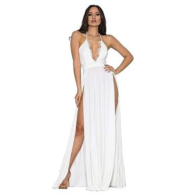 Mymyguoe Vestido para Fiesta de Noche Vestido Mujer 2019 ...