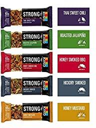 """** 15 Packs ** Kind Strong Variety Pack, 1.6 Ounce, 15 Count + 2 x 4"""" Snack Clips"""