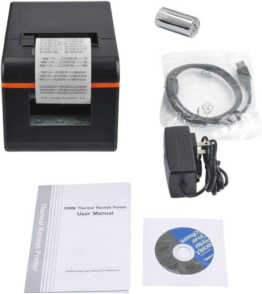 Renewed Thermal Receipt Printer with Auto-Cutter and Internal ...