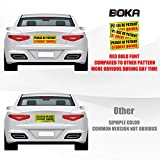 BOKA Student Driver Magnet for Car, Upgraded Please