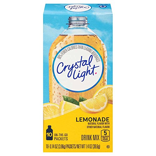 (Crystal Light Lemonade Drink Mix (120 On the Go Packets, 12 Canisters of 10))