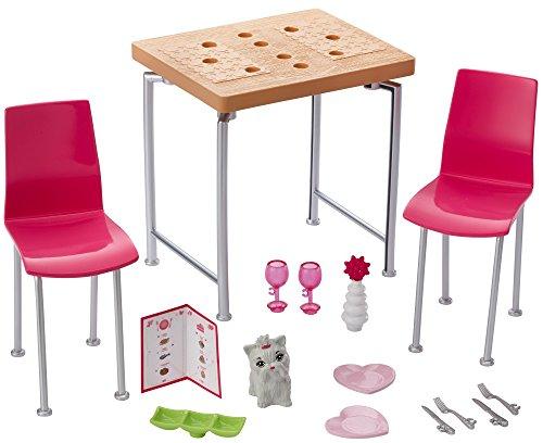 Fashion Doll Furniture - Barbie Date Night & Accessories Playset
