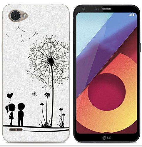 PREVOA Funda para LG Q6 - Colorful Silicona TPU Funda Case para LG ...