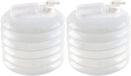 Bidon Pliant Portable avec Robinet R/écipient deau sans BPA Non Toxique pour Camping Randonn/ée Escalade Pique-Nique BBQ ou dautres Activit/és de Plein Air DUTISON 5//10//15L R/éservoir deau Pliable