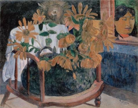 Oil Painting 'Sunflowers,1901 By Paul Gauguin' Printing On Perfect Effect Canvas , 30x38 Inch / 76x97 Cm ,the Best Kitchen Decoration And Home Artwork And Gifts Is This High Definition Art Decorative Prints On Canvas by eyeselect