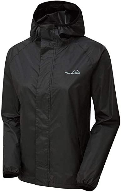 New Freedom Trail Men's Stowaway Waterproof Jacket