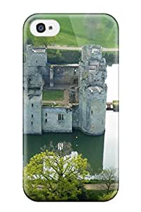 Hot Iphone 4/4s Case, Premium Protective Case With Awesome Look - Bodiam Castle 2090214K25030483