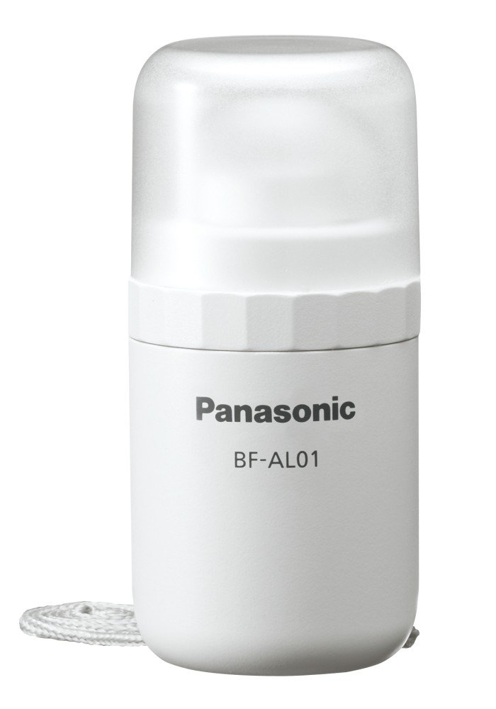 Panasonic Lanthanum flashlight BF-AL01K-W White
